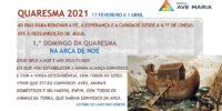 Apresentação Quaresma 2021